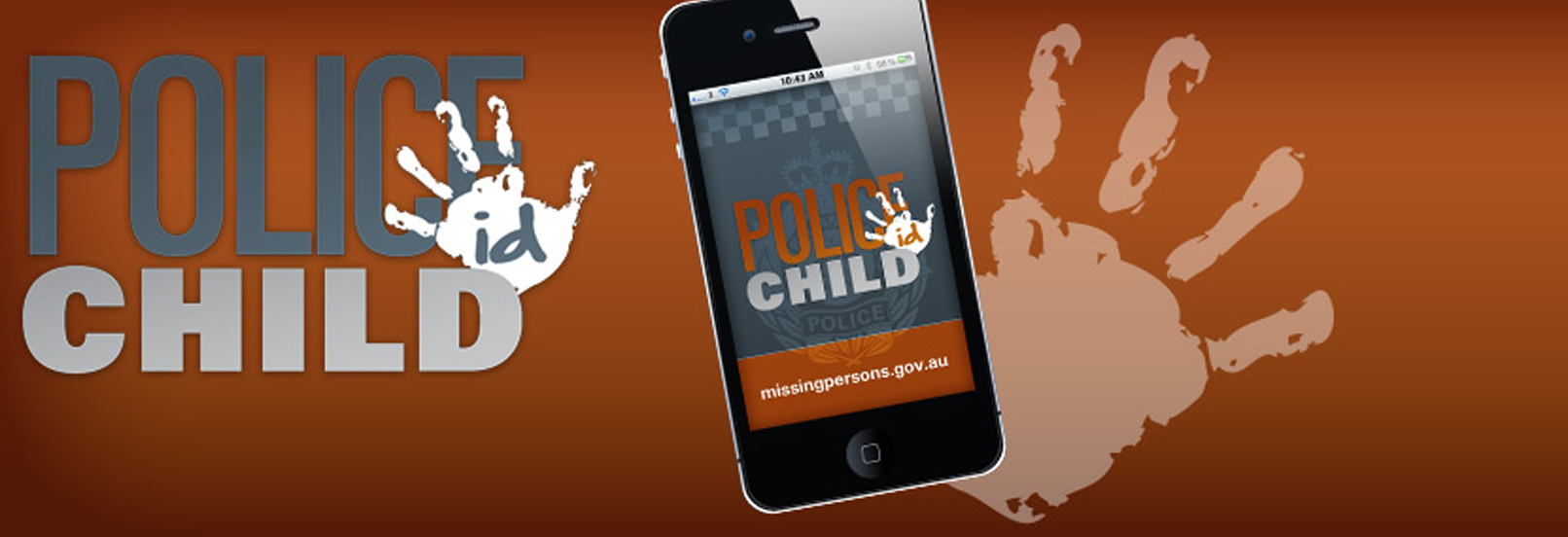 Australian Police Child ID mobile application banner