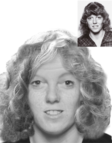 Missing Person Kay Docherty - age progression