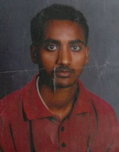 Missing Person Radae Berhane